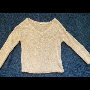Beige Sweater - Forever 21